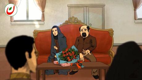 ارزشبان - انیمیشن - ازدواج فرزند شهید